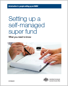 Setting up a self managed super fund